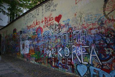 John Lennon Mauer
