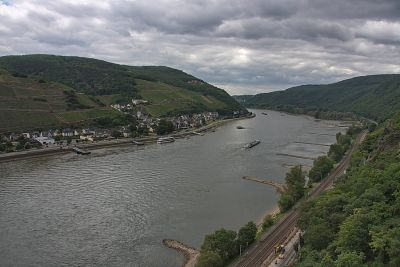 Rhein aufwärts