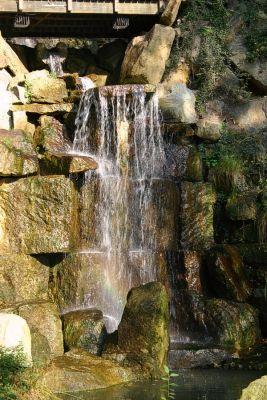 Wasserfall am Petrinhügel