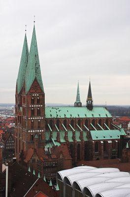 St. Marien vom Petriturm aus