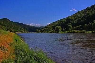 Elbe bei Schmilka