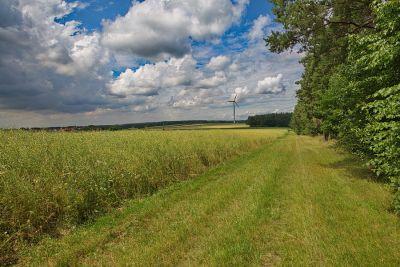 Zwischen Ansbach und Colmberg